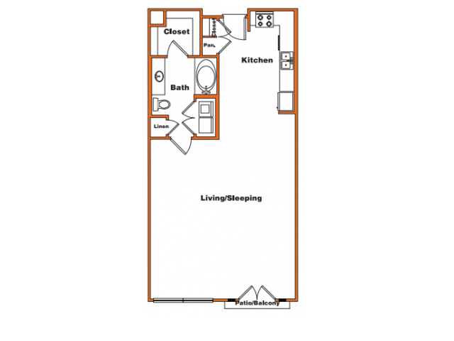 Loft 4 | Trinity Loft | Dallas Apartments