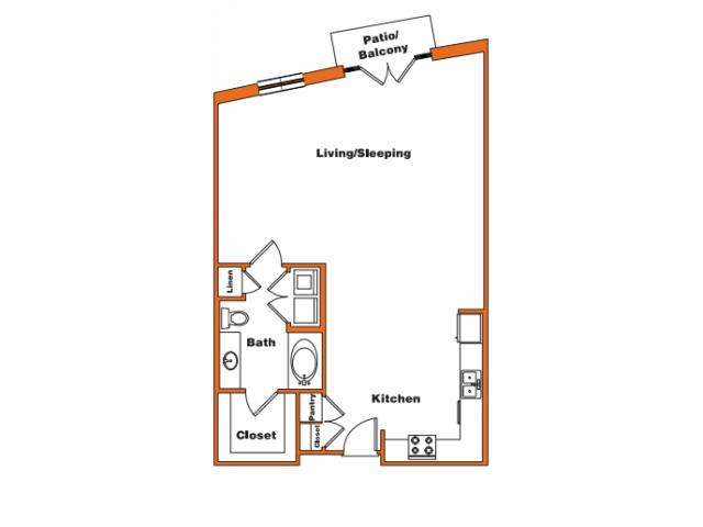 Loft 5 | Trinity Loft | Dallas Apartments