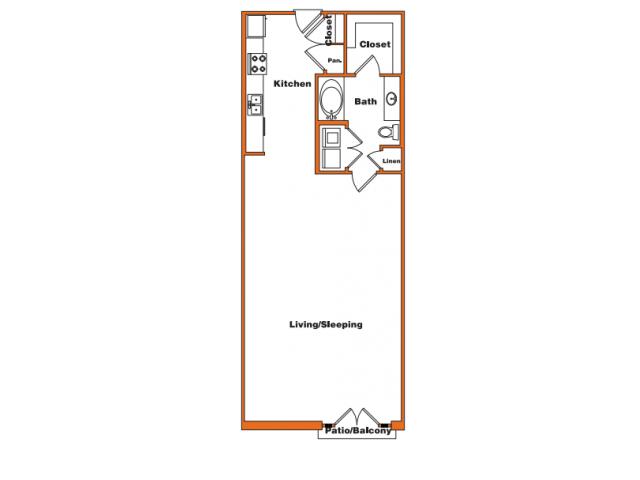 Loft 6 | Trinity Loft | Dallas Apartments