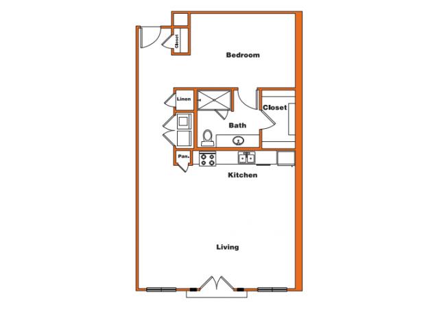 Loft 8 | Trinity Loft | Dallas Apartments