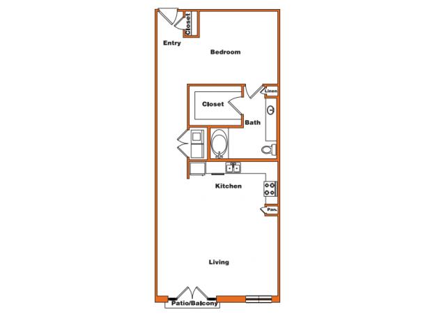 Loft 9 | Trinity Loft | Dallas Apartments