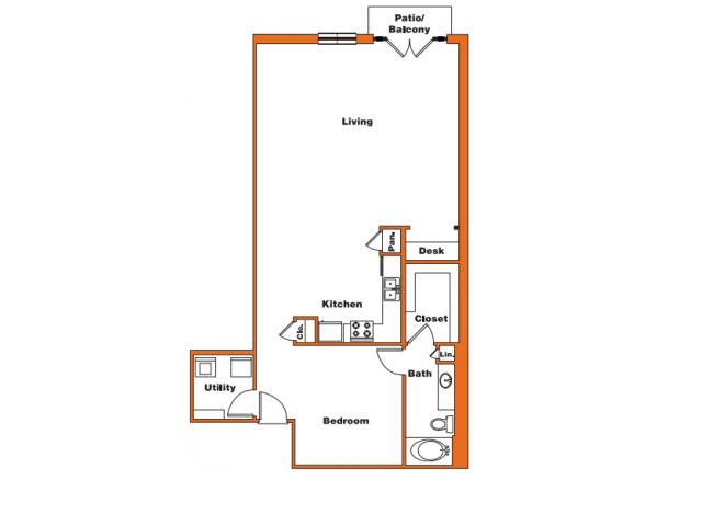Loft 10 | Trinity Loft | Dallas Apartments