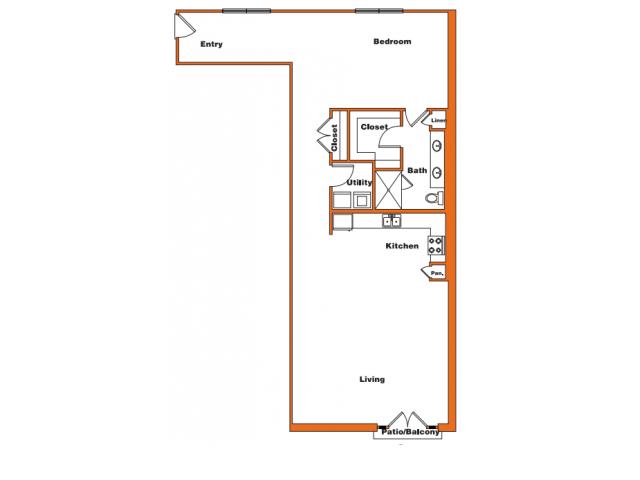 Loft 11 | Trinity Loft | Dallas Apartments