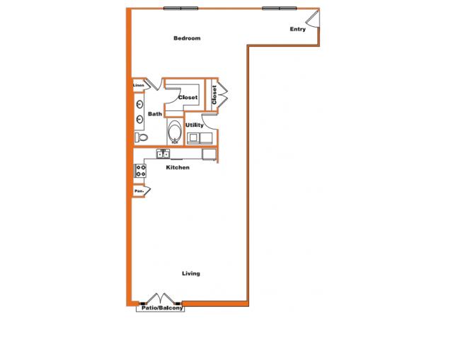 Loft 12 | Trinity Loft | Dallas Apartments