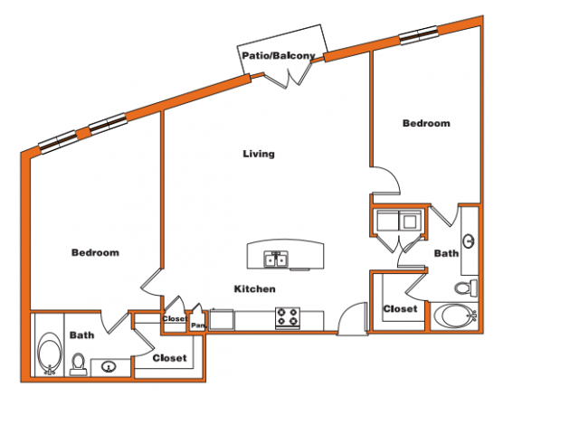Loft 13 | Trinity Loft | Dallas Apartments