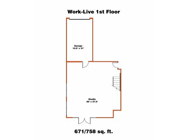 Work Live 1 | Trinity Loft | Dallas Apartments