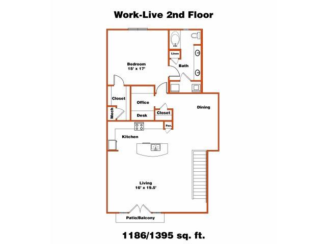 Work Live 2 | Trinity Loft | Dallas Apartments