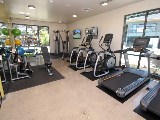 State-of-the-Art Fitness Center | Apartments Near Sacramento State | University Village
