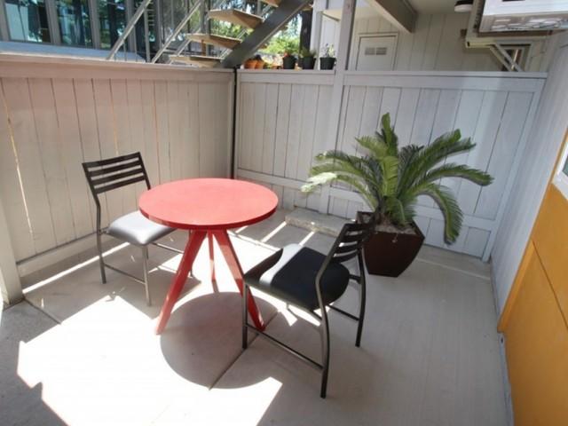 Spacious Porch Area | Apartments Near Sacramento State | University Village