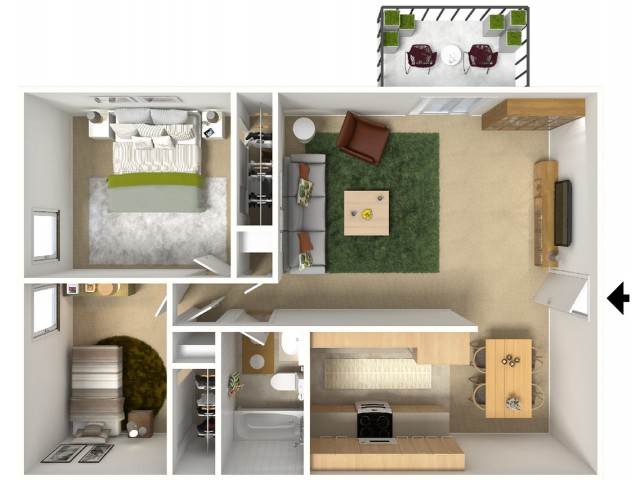 2x1 Floorplan