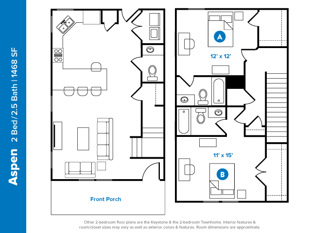 2 5 Bed Apartments Check Availability Aspen Heights Starkville