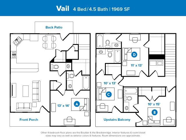 2 5 Bed Apartments Check Availability Aspen Heights Corpus Christi