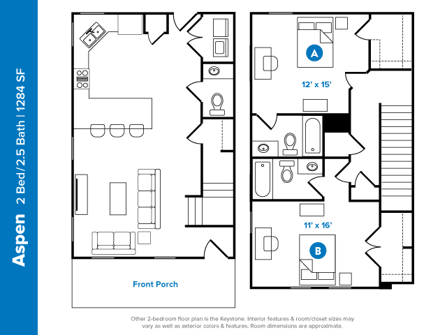 2 5 Bed Apartments Check Availability Aspen Heights Norman