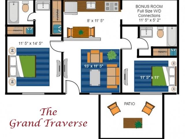 Grand Traverse River Deluxe