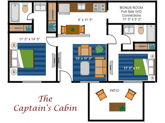 The Captain\'s Cabin