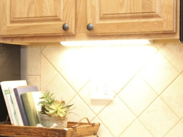 Image of LED Under Cabinet Kitchen Lighting for The Park at Salisbury