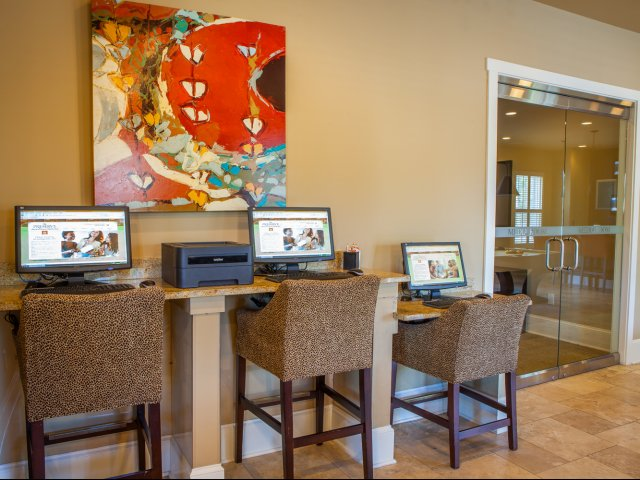 Image of Cyber Cafe for The Preserve at Columbus Park