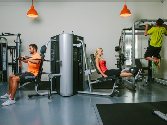 Image of 24 Hour Fitness Center for Lullwater