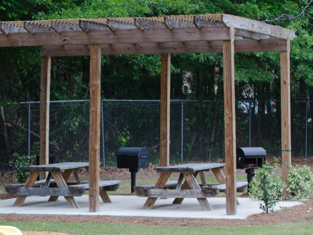 Image of Community Grilling Area for Hunters Run