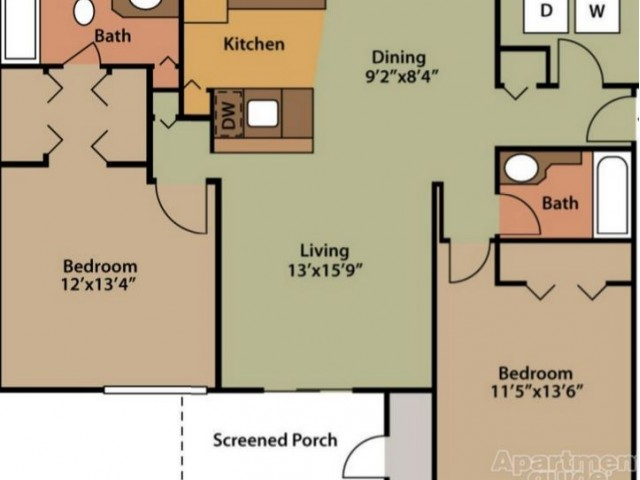 TheRiverApartments_Rapids_2x2_1072sqft
