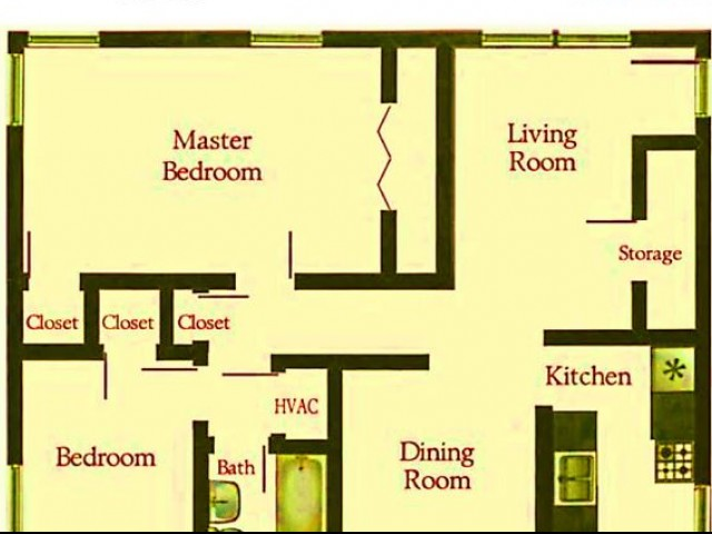 2 bedroom renovated suite apartment home