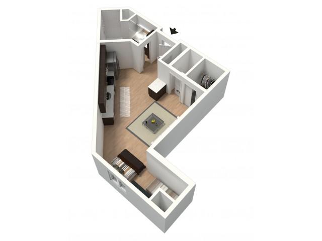 Borgia Furnished 3D Floor Plan