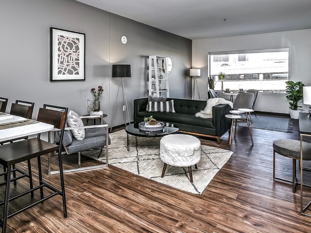 Harwood Style Flooring in Main Living Areas