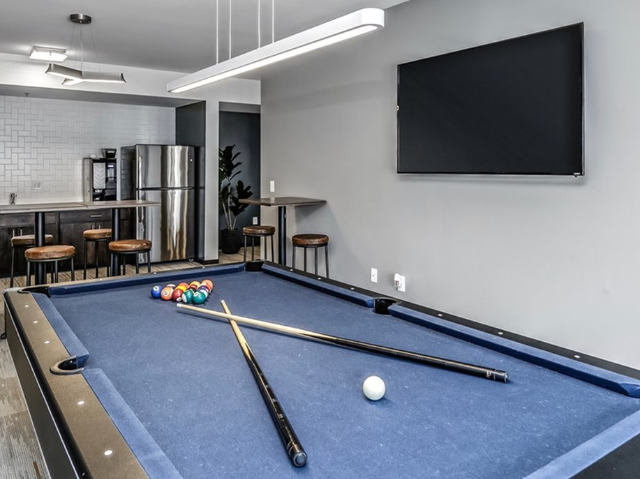 Resident Lounge with Pool Table