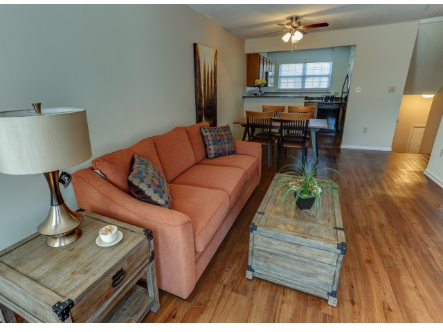 Image of Wood Style Plank Flooring Available for Windsong Place Apartments
