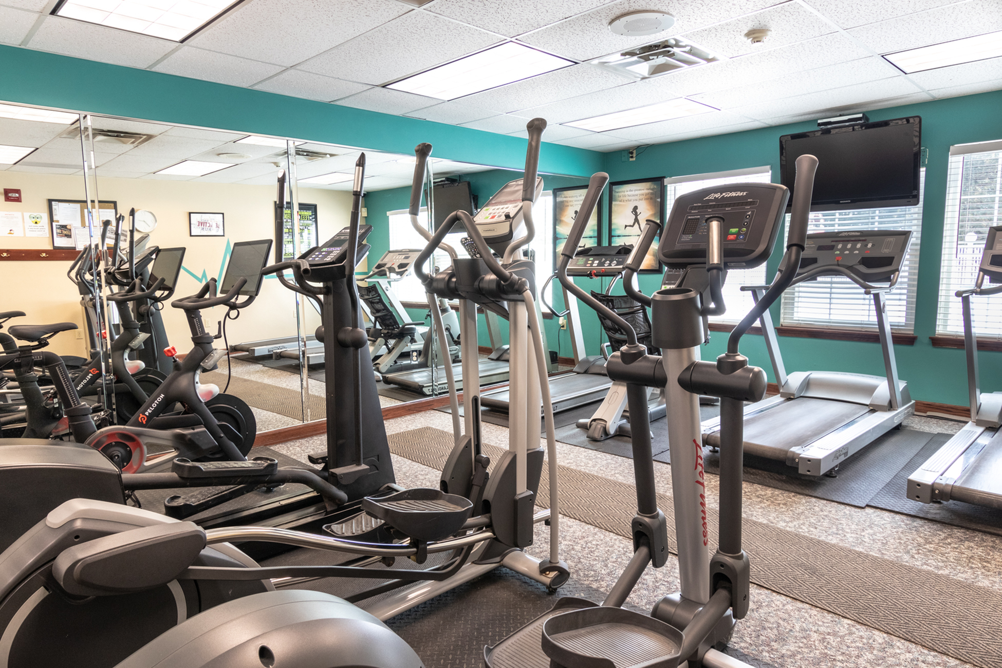 State-of-the-Art Fitness Center | Buffalo New York Apartments for Rent | Windsong Place Apartments