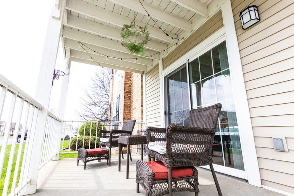 Image of Private Balcony or Patio for Windsong Place Apartments