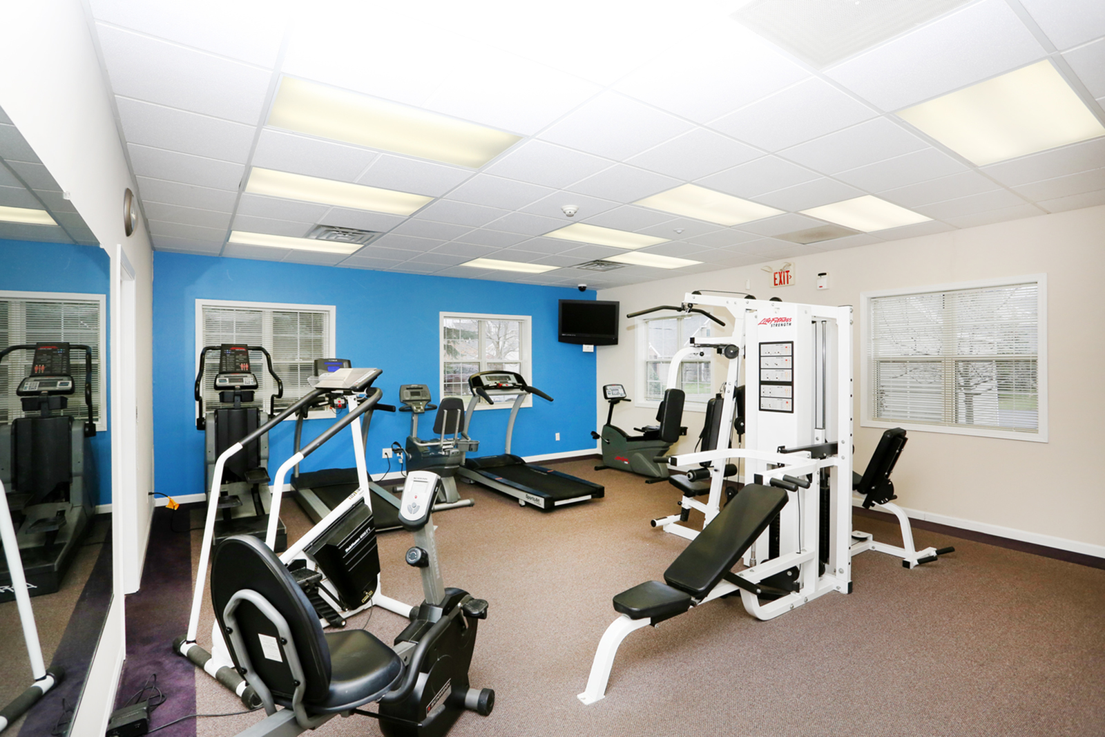 State-of-the-Art Fitness Center | Apartment Homes in Williamsville, NY | StoneGate of Clarence Apartment Homes