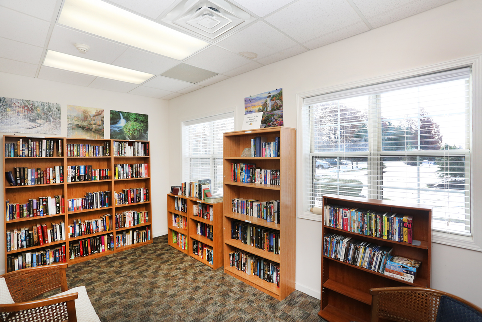 Resident Library | Apartments in Williamsville, NY | StoneGate of Clarence Apartment Homes