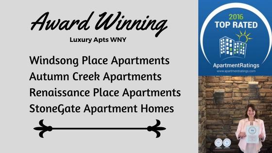 Luxury Apts WNY Win Awards