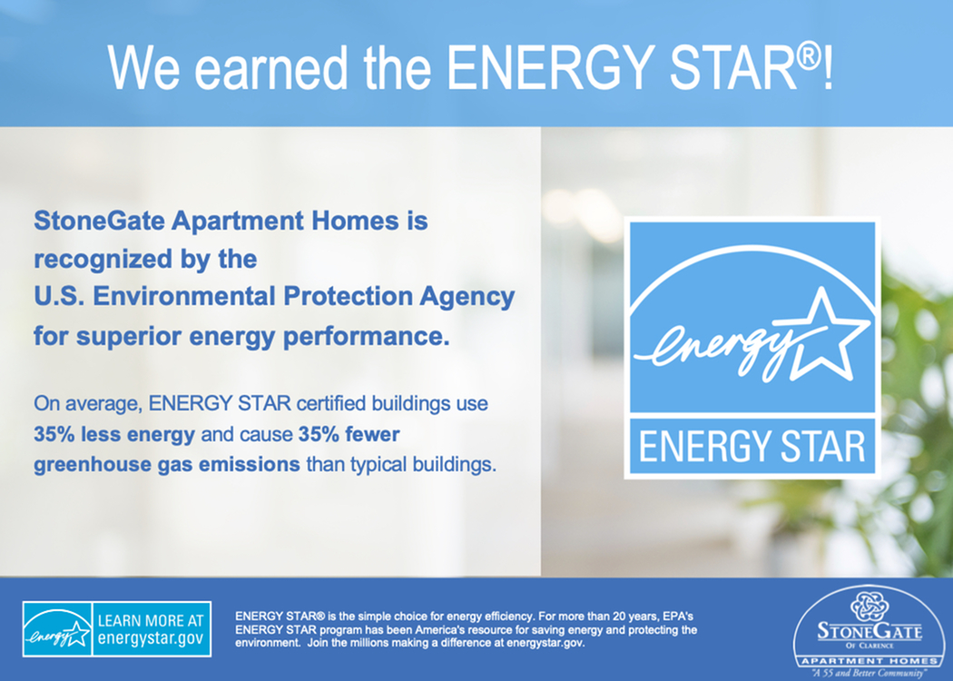 StoneGate  Earns ENERGY STAR Certification-image