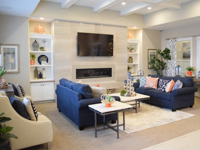 Image of TV Lounge for Herriman Towne Center Apartments