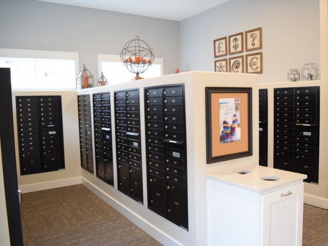 Image of Indoor Mail Room for Herriman Towne Center Apartments