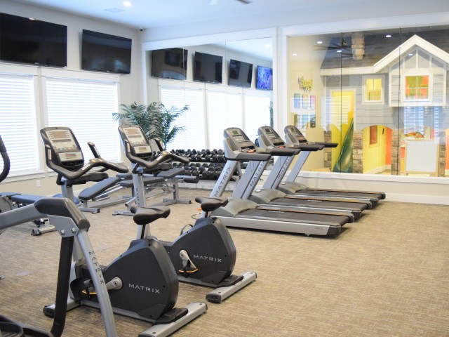 Image of 24 Hour Fitness Center for Herriman Towne Center Apartments