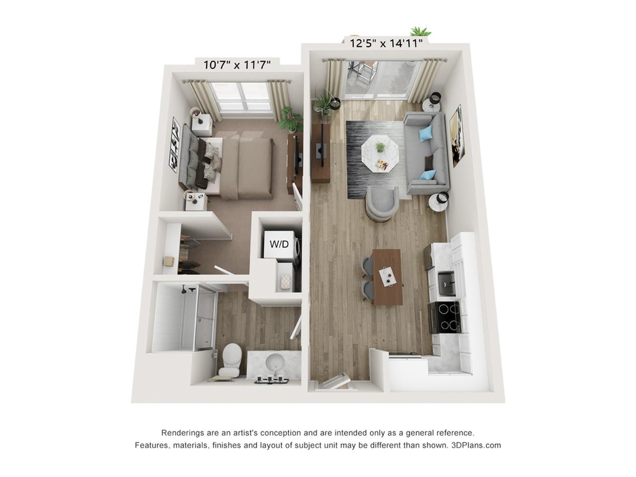 K Floorplan