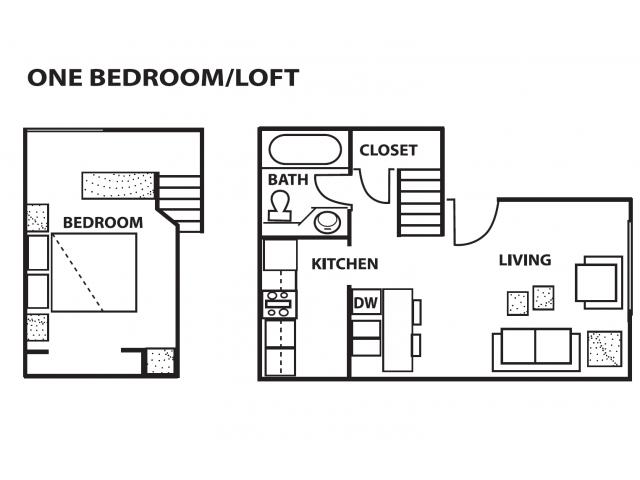 1 Bed / 1 Bath Apartment in Albuquerque NM | CINNAMON TREE