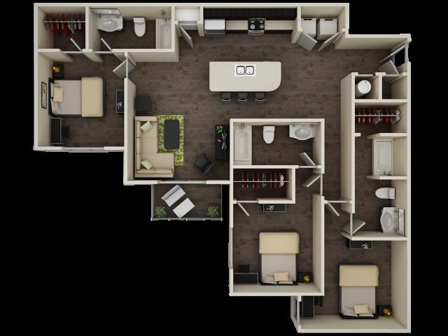 Progress 910 C2 Floor Plan