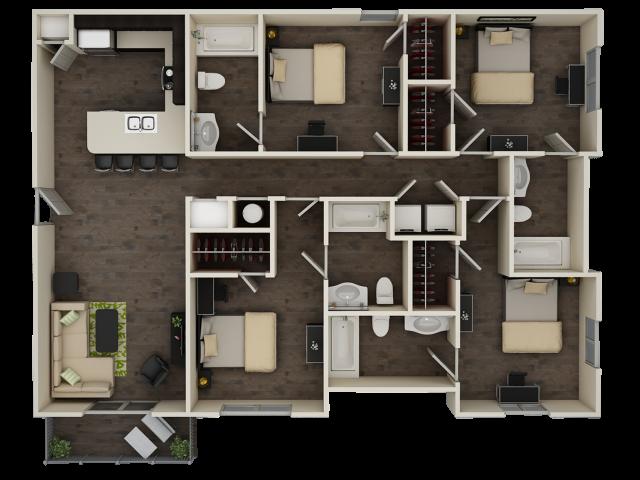 Progress 910 D1 Floor Plan