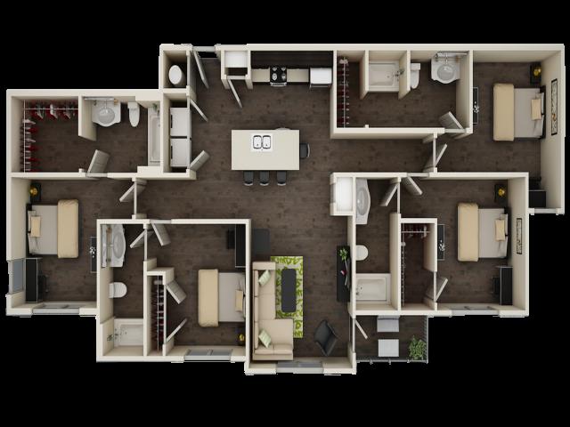 Progress 910 D2 Floor Plan