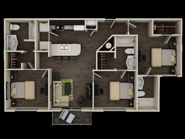 Progress 910 C1 Floor Plan