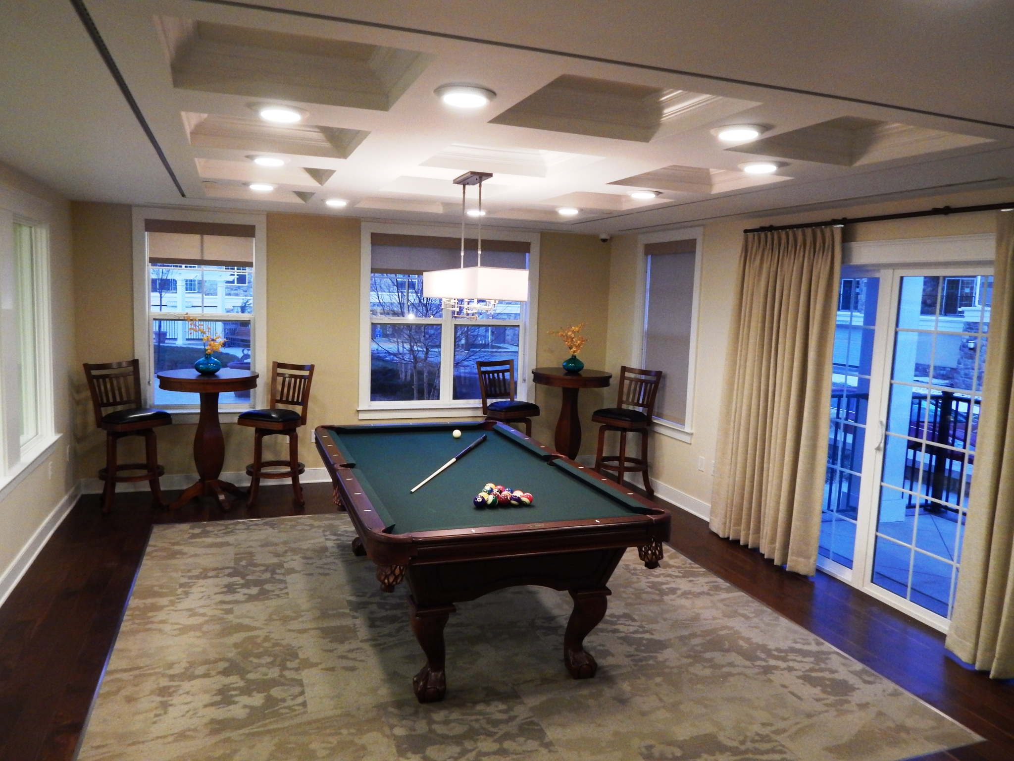 Pool Table at Palmer View