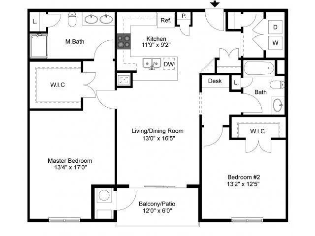Floor Plan 6 | Palmer View