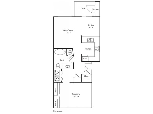 The Abiqua | Apartment Eugene Oregon | River Terrace