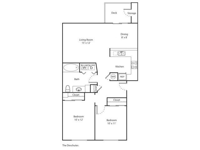 The Deschutes | Apartment Eugene Oregon | River Terrace