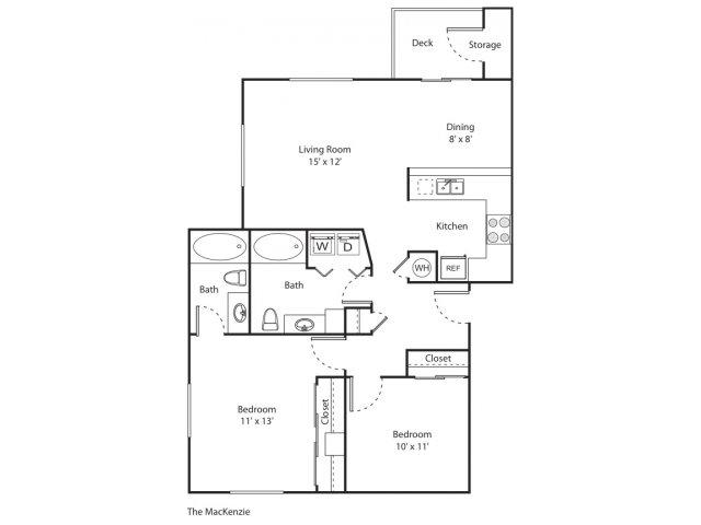 The MacKenzie | Apartment Eugene Oregon | River Terrace