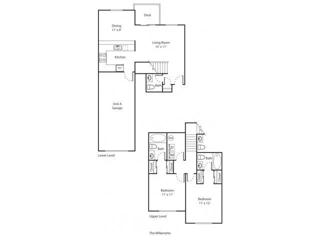 The Willamette | Apartment Eugene Oregon | River Terrace